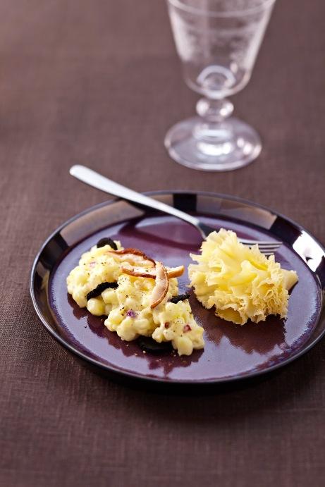 Risotto au poulet pesto et roquette dont le risotto de no l de b akrame en prime ou comment - Risotto noel ...
