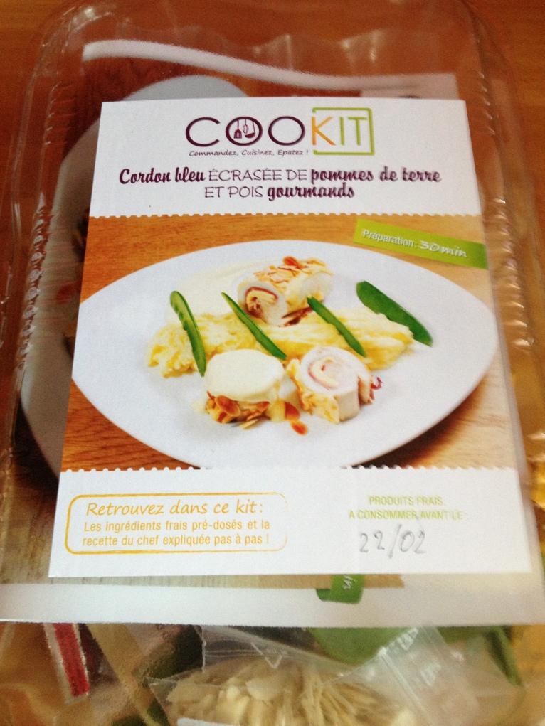 MyCookit : Cordon-Bleu et écrasée de pommes de terre