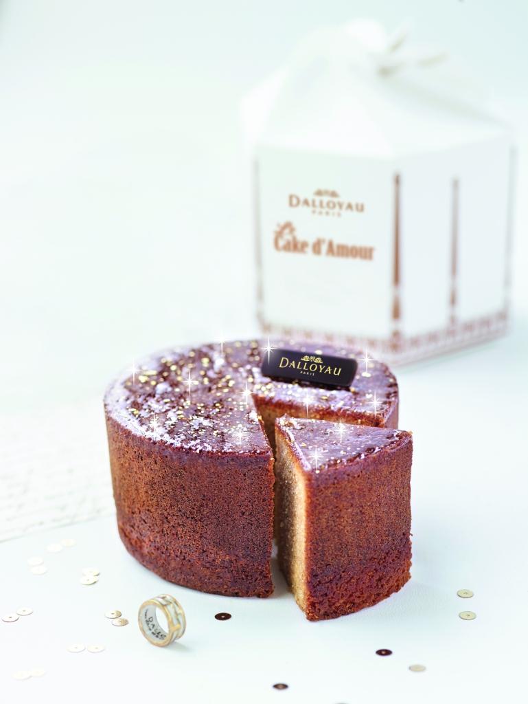Le cake d'amour de Dalloyau en hommage à Jacques Demy