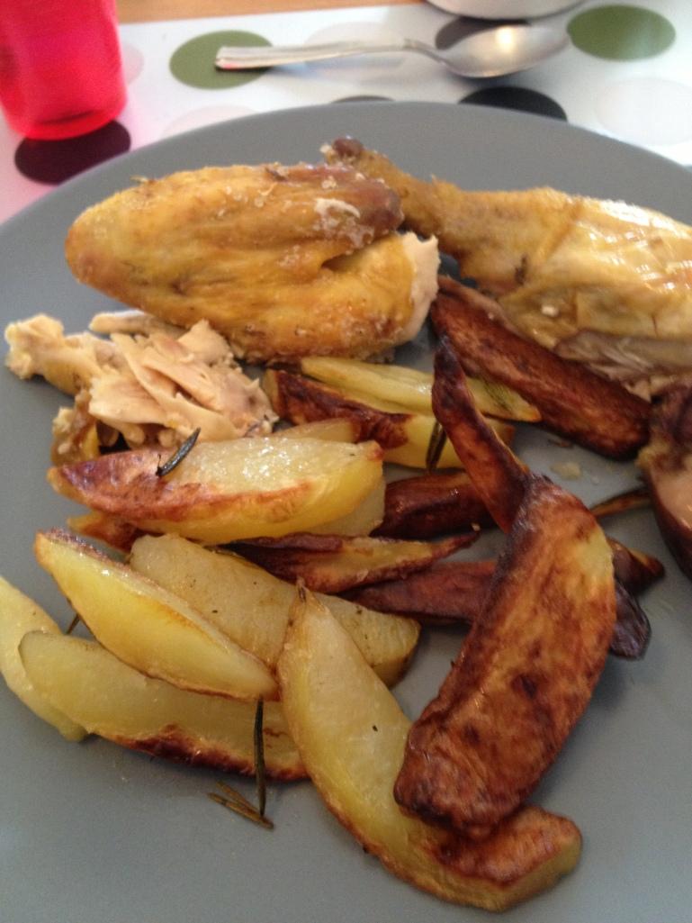 Avec des potatoes maison, c'est parfait !