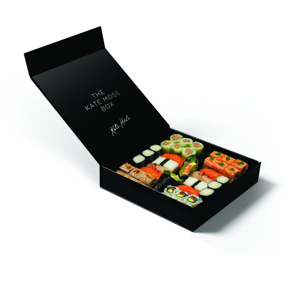 La sushis box Kate Moss