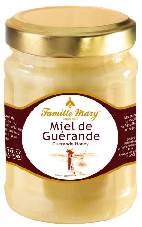 Miel de Guerande, Mary, 4,30 € le pot de 230 g.