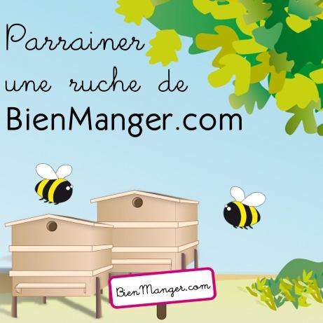 Parrainer une ruche avec, quelle bonne idée !