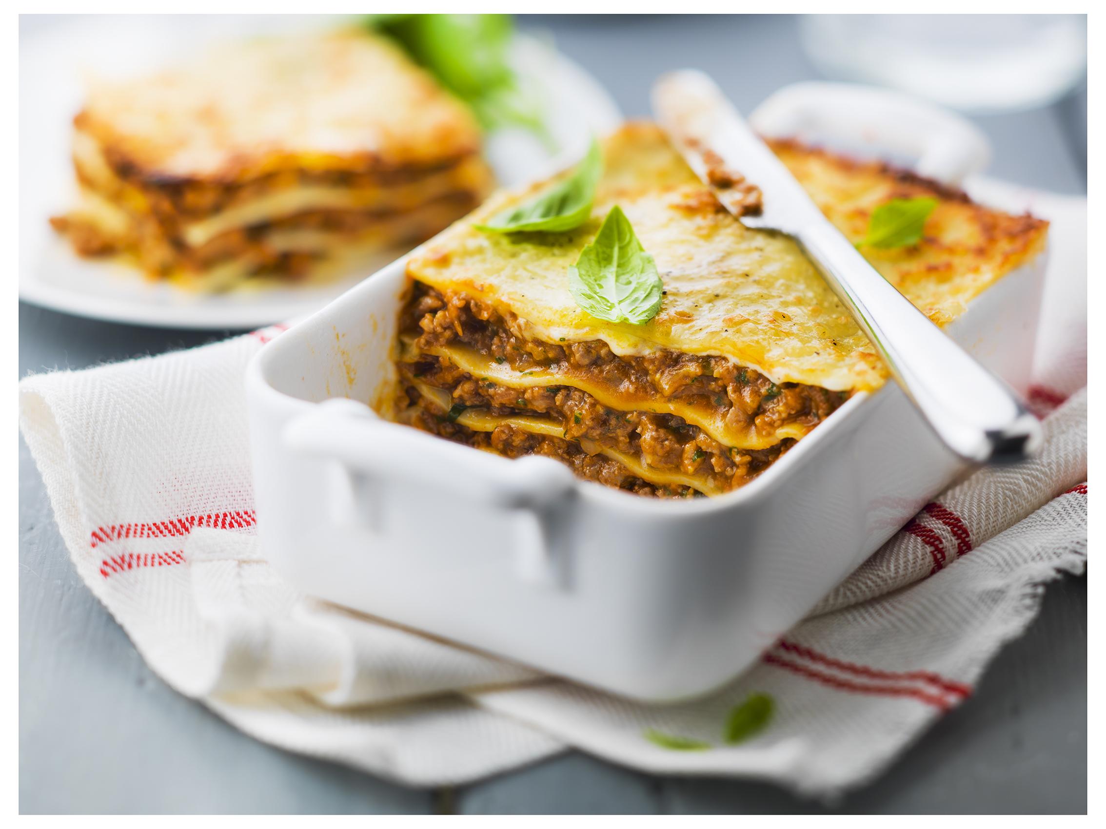 lasagnes express go t de food. Black Bedroom Furniture Sets. Home Design Ideas