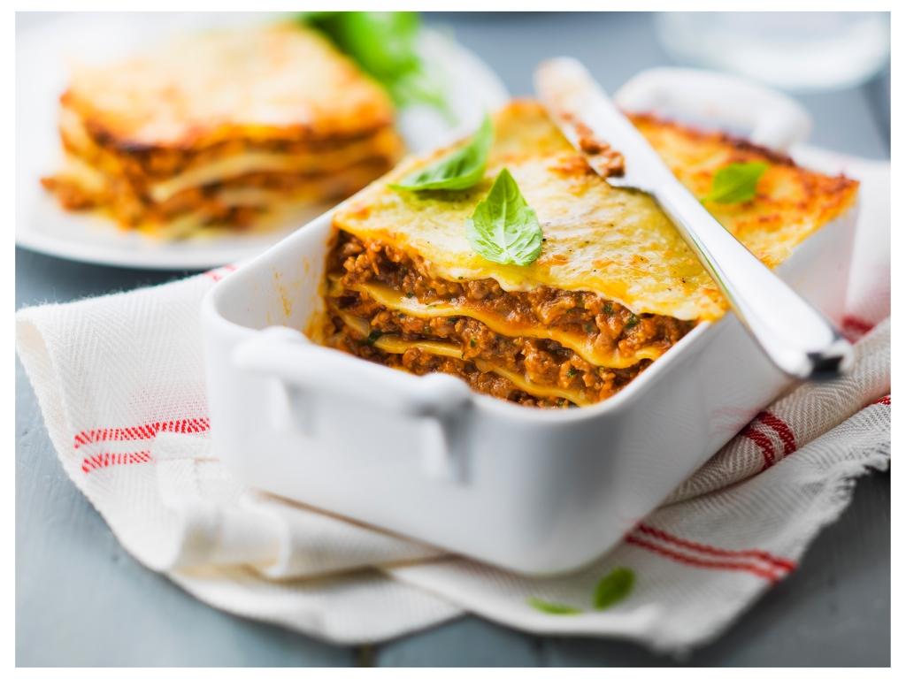 Lasagnes express à la bolognaise