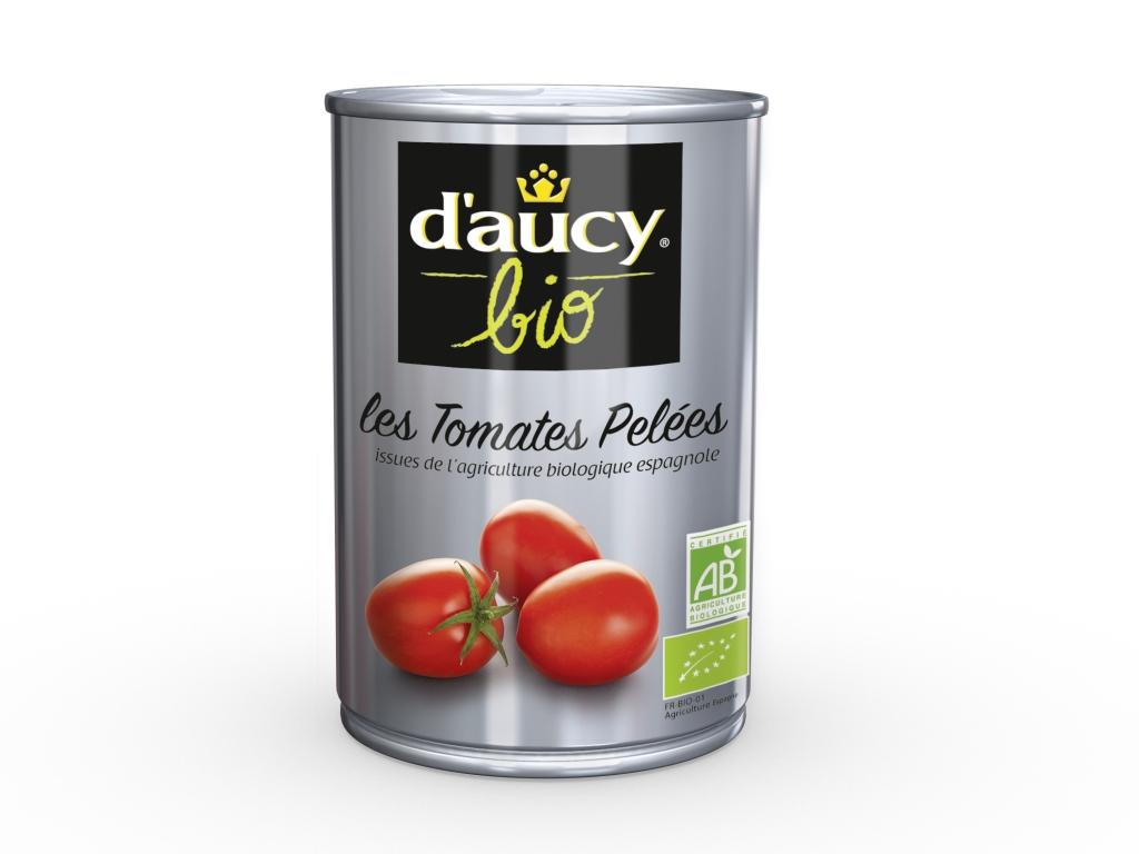Tomates pelées Bio Daucy