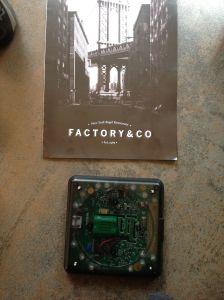 Le beeper du Factory&co