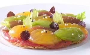 La tarte fine aux tomates d'Alain Pégouret