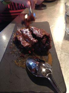 Brownie au chocolat (et caramel) Petit Pan