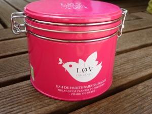 Lov Organic, la jolie boîte rose !