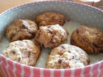 Cookies aux pépites de chocolat et sésame