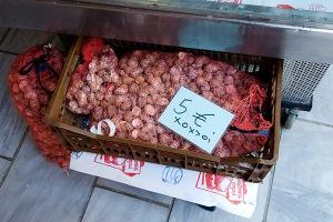 Les escargots font partie du fameux régime crétois.