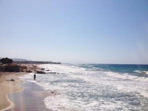 Crète, Analipsi, des kilomètres de plage