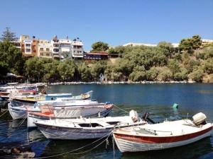 Agios Nikolaus, le lac