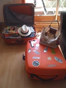Des valises sur le départ...