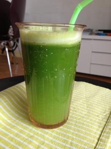 Mon jus tout vert