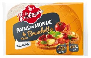 Pains du Monde - Pains Bruschetta La Boulangere(1)