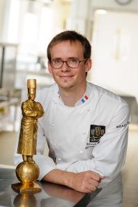 Thibaut Ruggeri, lauréat du Bocuse d'or 2013 signe 5 plats pour Air France