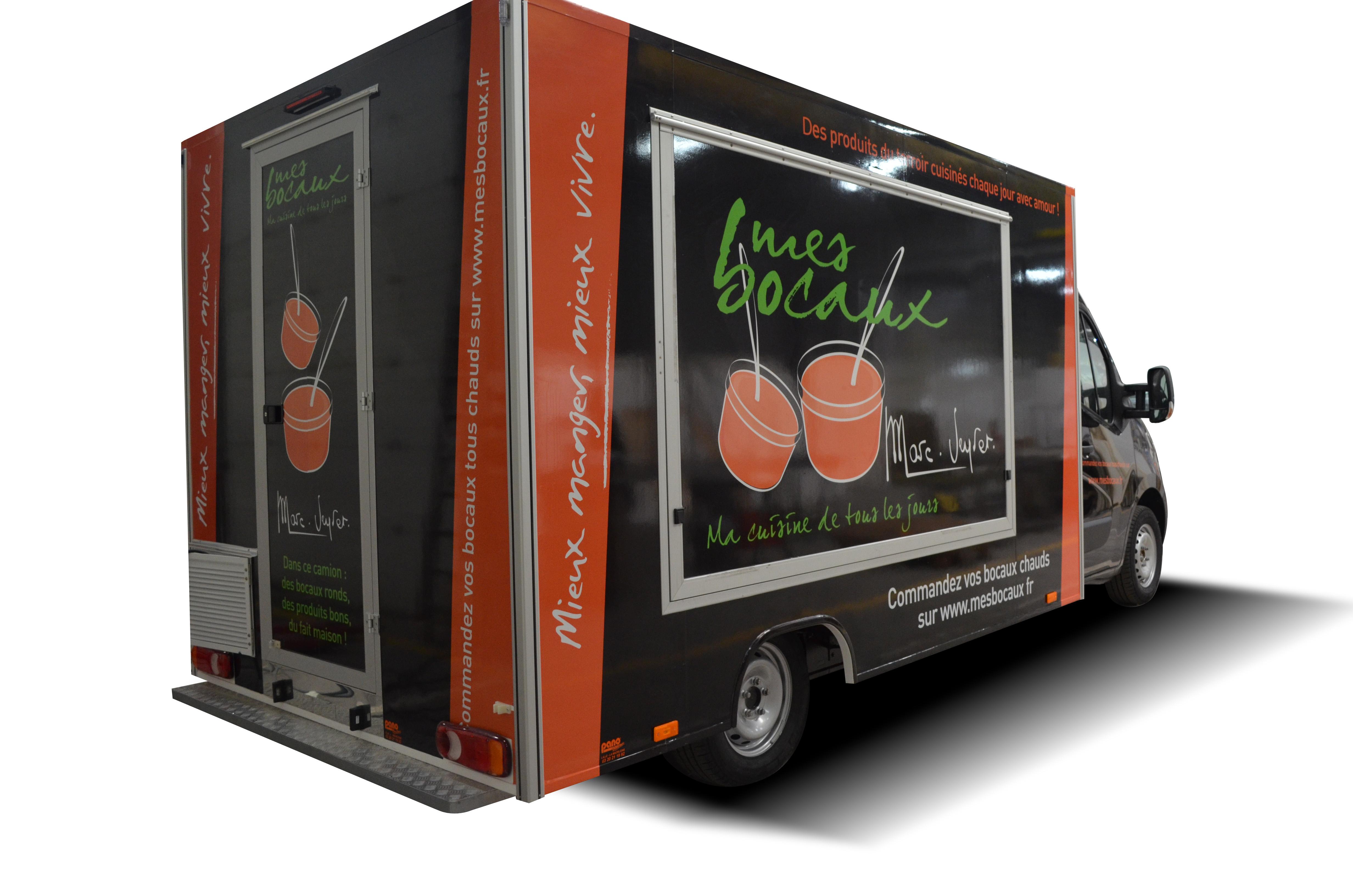 a bord du food truck de marc veyrat go t de food. Black Bedroom Furniture Sets. Home Design Ideas