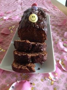 Cake d'amour au chocolat et topinambour
