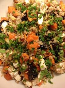 Salade veggie aux patates douces -Myriam Darmoni