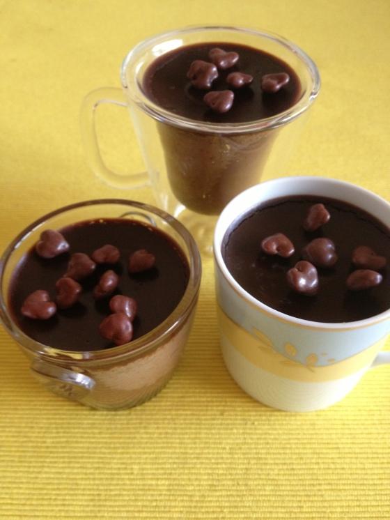 crème au chocolat crémeuse