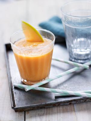 Smoothie au melon de Guadeloupe IGP et miel