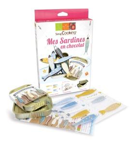 Paques, Sardine en chocolat, Scrapccoking