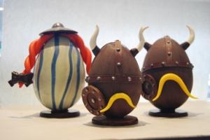Pâques 2014 Les œufs Gaulois de Christian Constant