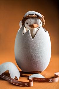 Pâques 2014 L'œuf d'autruche du Prince de Galles
