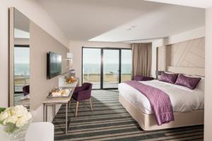 Chambre vue sur mer - Hôtel Thalazur-Cabourg