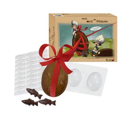 Oeuf en chocolat, DIY, yoocook
