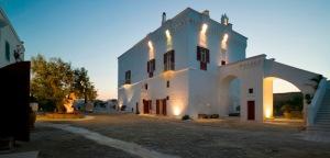 La masseria Coccaro dans les Pouilles en Italie