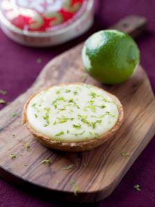 Tarte au citron cœur de camembert (Cœur de Lion)