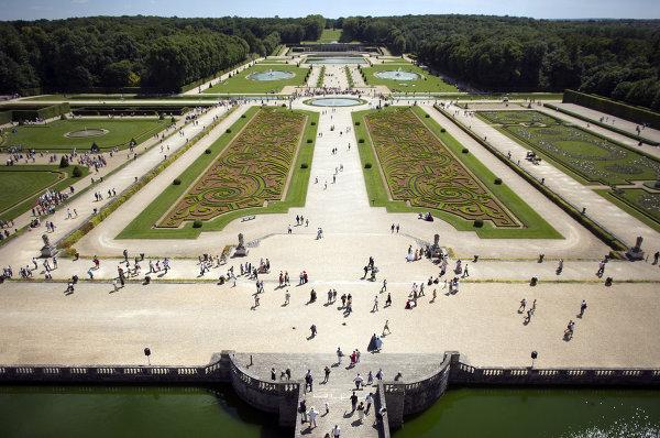 Pâques, Jardin Vaux-le-Vicomte