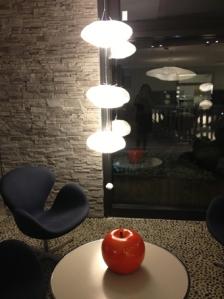 Pomme et nuage à l'image de la Normandie -Hôtel Les Bains Cabourg, Groupe Thalazur