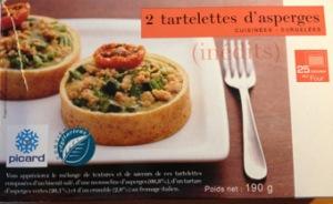 Tartelettes aux asperges -Picard