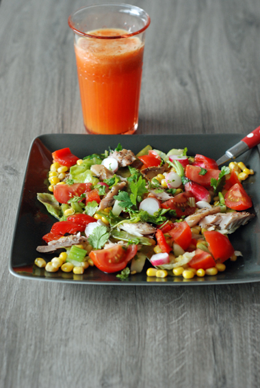 BD salade et jus