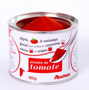 Poudre de tomate Auchan, un nouvel allié dans le placard !