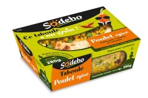 Nouveau taboulé Sodebo, une gamme sympa pour des déjeuners sur le pouce
