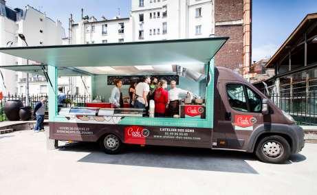 Le cook-truck, l'atelier de cuisine itinérant de l'Atelier des sens