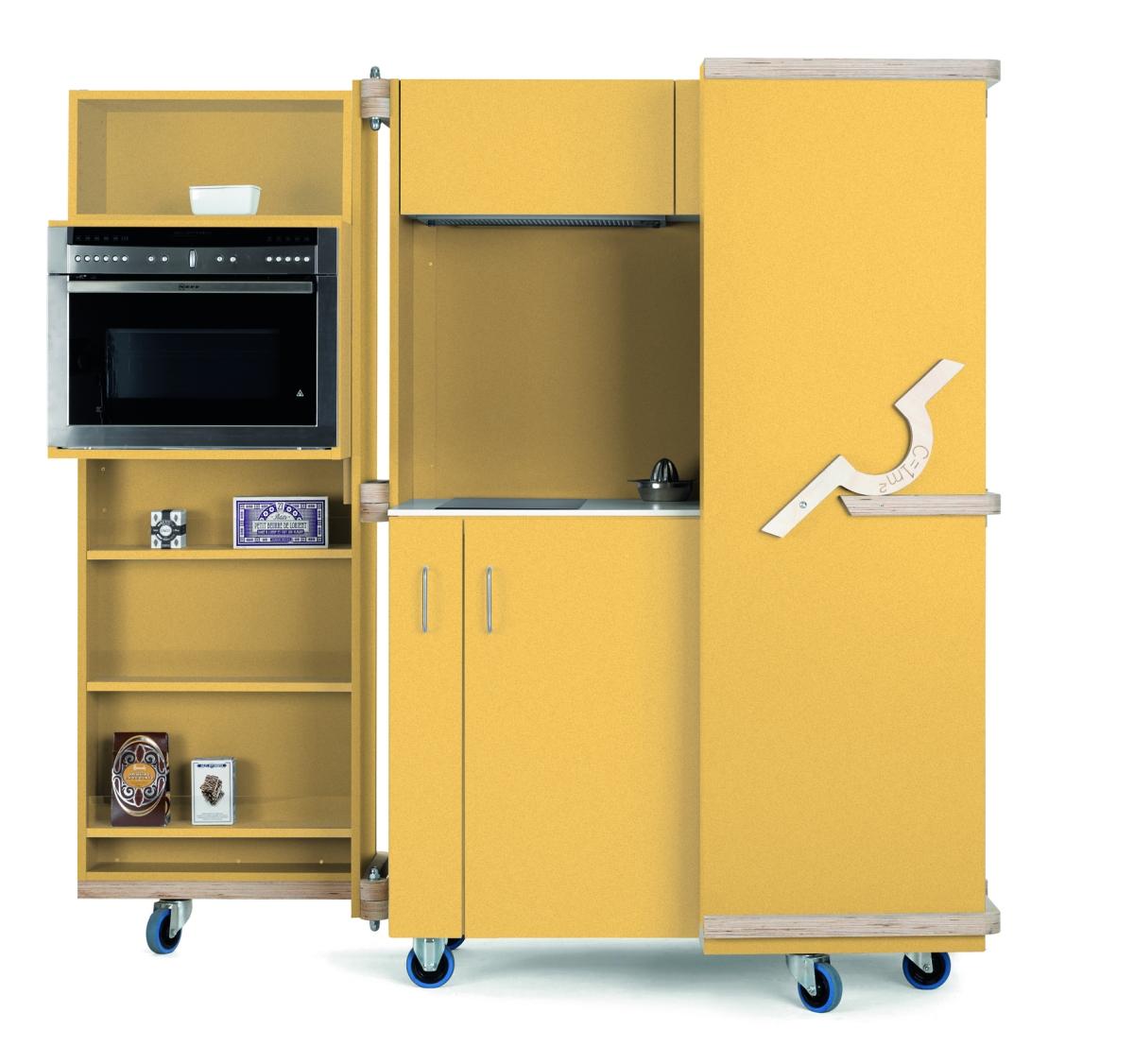neff invente la plus petite cuisine du monde go t de food. Black Bedroom Furniture Sets. Home Design Ideas
