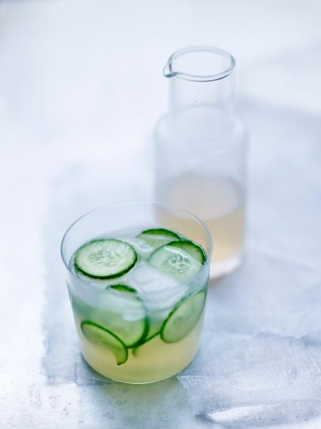 Limonade au concombre
