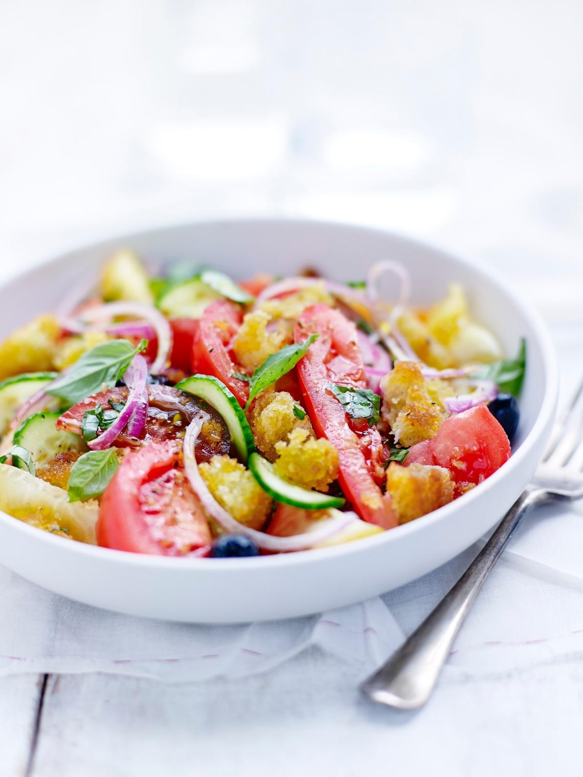Salade Panzanella - Tomates de nos régions