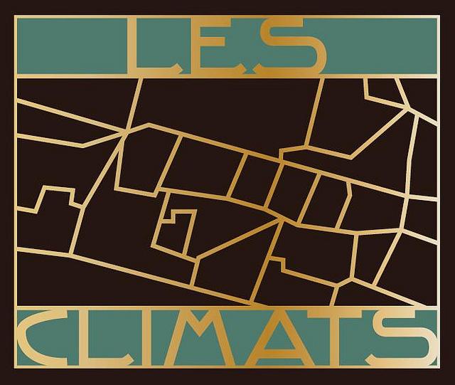 Le logo art déco des Climats