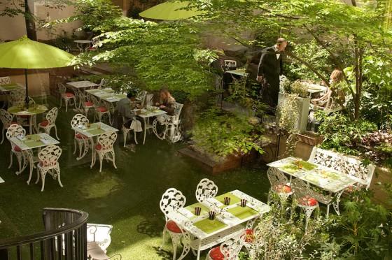 Le jardin secret des Climats Le jardin d'hiver des Climats La salle des Climats. Photo C. Tamalet.