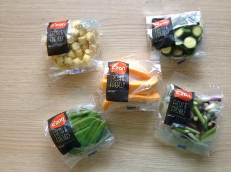 La nouvelle gamme de légumes prêt à l'emploi Czon