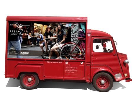 Un food truck pour découvrir la cuisine australienne du 12 sept. au 4 octobre.