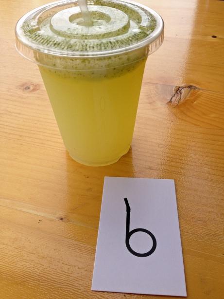 Limonade à la menthe du Bob's Bakeshop