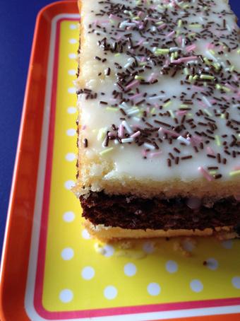 Napolitain ou la métamorphose du gâteau au yaourt